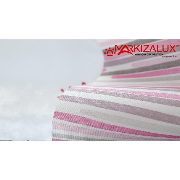Фото Румба малиновый - ткань для тканевых ролет Рулонные шторы
