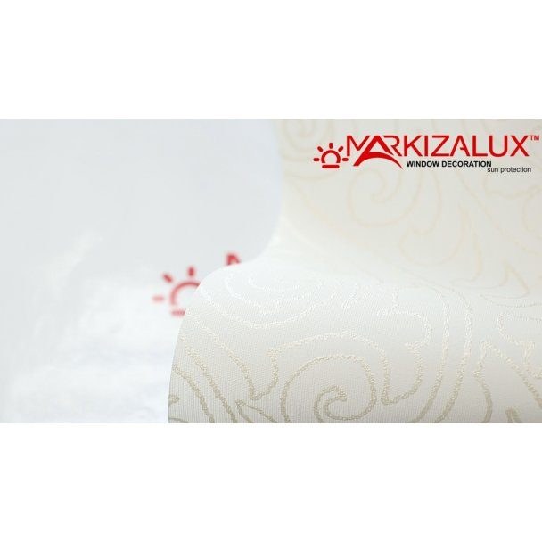 Фото Ампир белый - ткань для рулонных штор Рулонные шторы