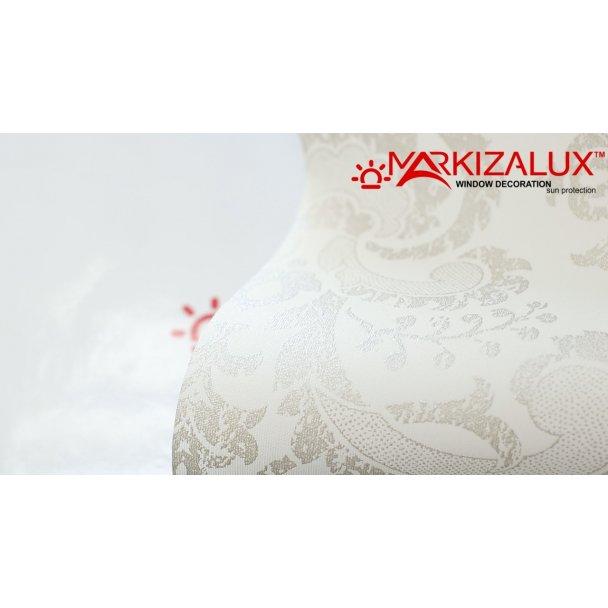 Фото Дамаск белый - ткань для рулонных штор Рулонные шторы