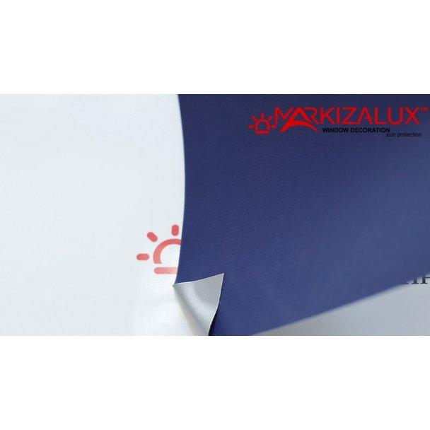 Фото Шёлк blackout Alu синий - ткань для тканевых ролет Рулонные шторы