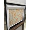 Фото Дамаск белый жемчуг - ткань для рулонных штор Рулонные шторы