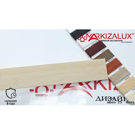 Фото Деревянные жалюзи Premium bamboo 25 агат Деревянные жалюзи