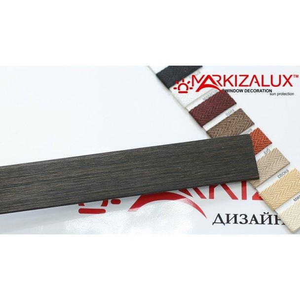 Фото Деревянные жалюзи Premium bamboo 25 базальт Деревянные жалюзи