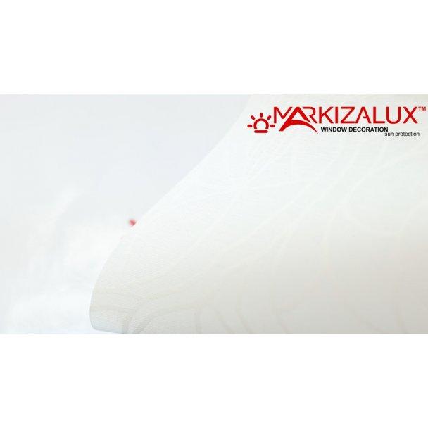Фото Полинезия белый - ткань для рулонных штор Рулонные шторы