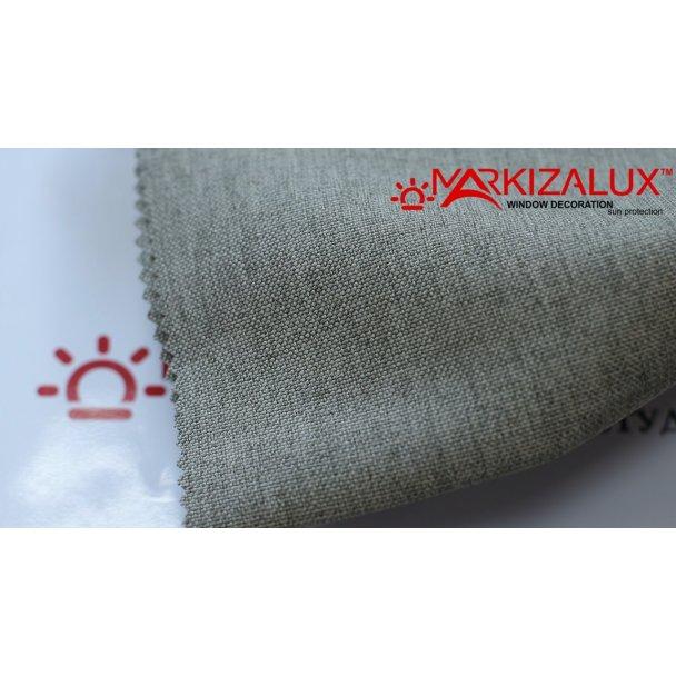 Фото Рогожка Светло серый - ткань Римские шторы
