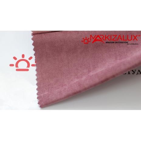 Фото Велюр Розовый - ткань Римские шторы