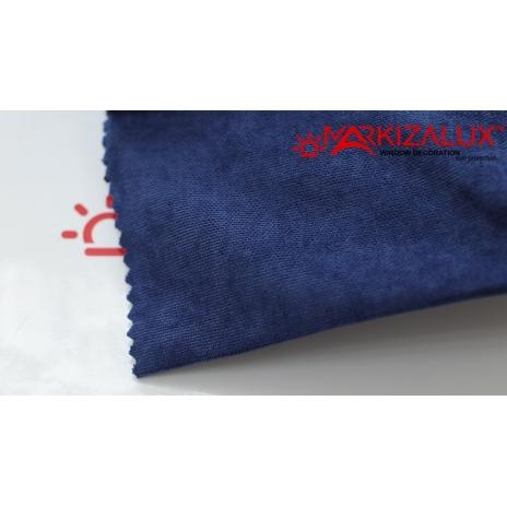 Фото Велюр Синий - ткань Римские шторы
