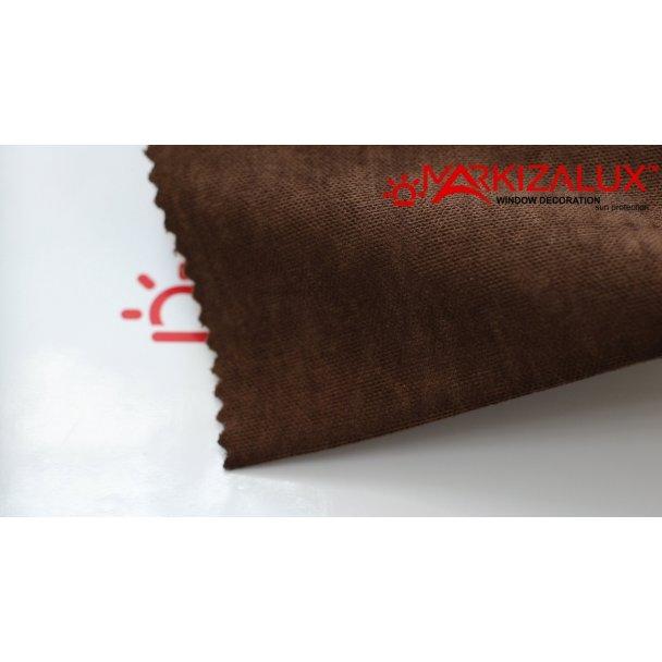 Фото Велюр Шоколад - ткань Римские шторы